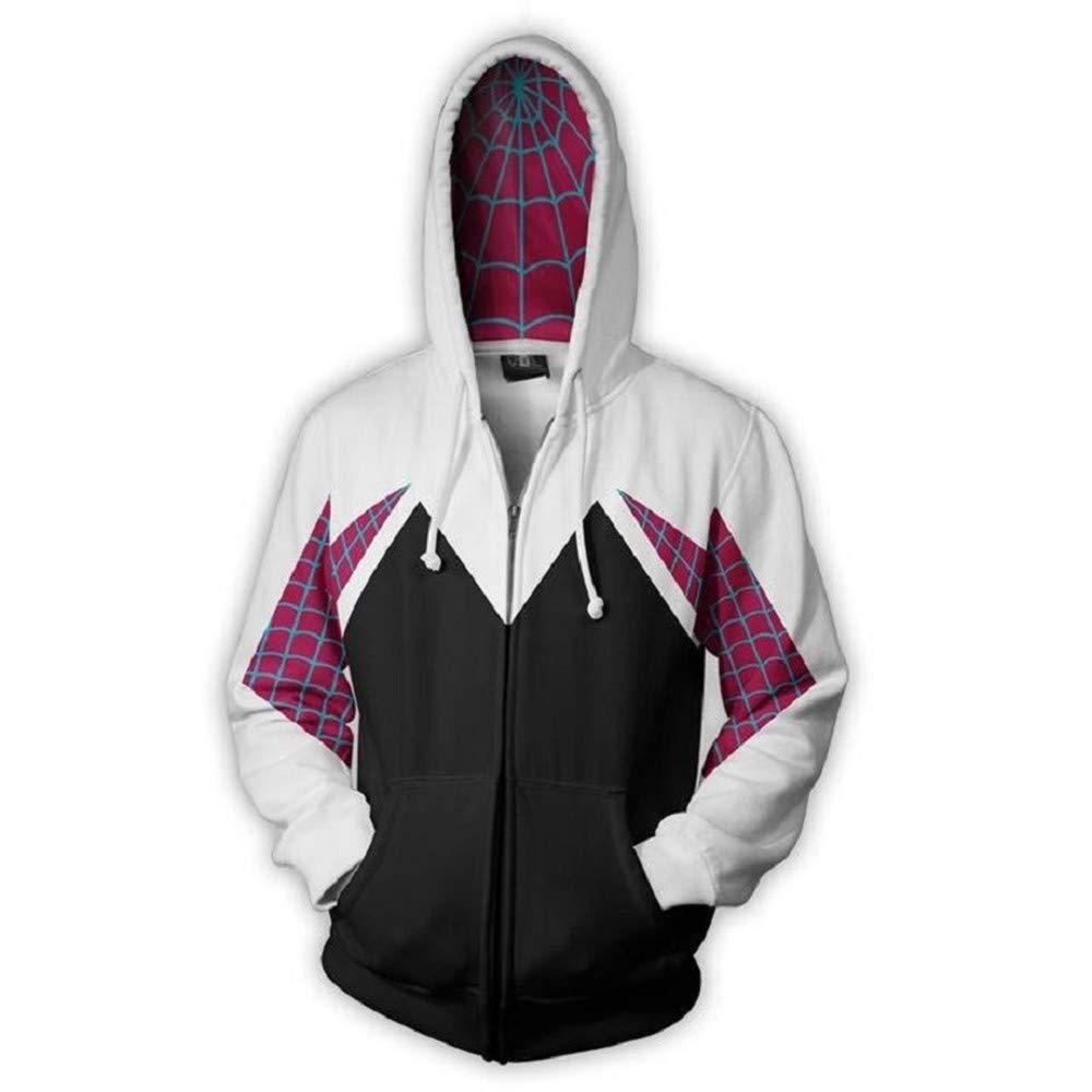 BING RUI CO Unisex Superhero Hoodies Cosplay Costume Sweatshirt for Halloween Holiday Christmas