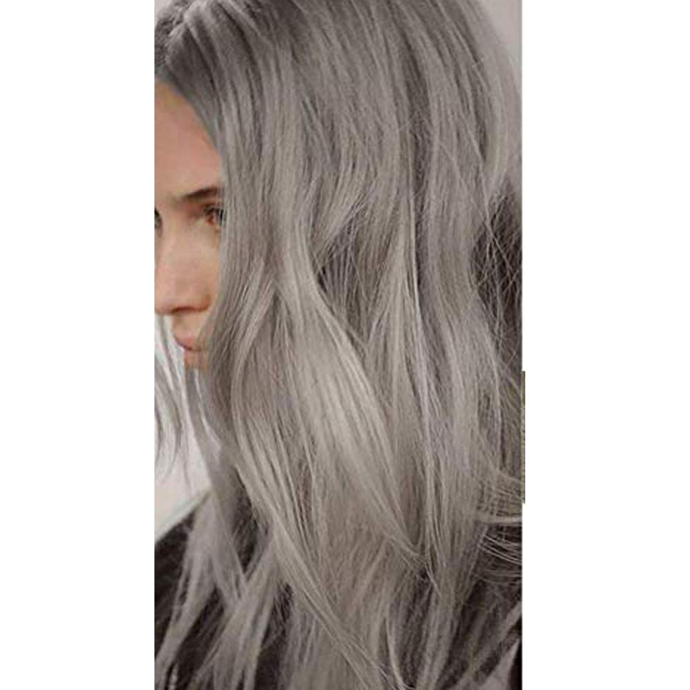 Moresoo 22 Inch Tape in Extensions Human Hair 20PCS 50G Seamless Remy Hair Extensions Color 66 Silver Grey Skin Weft Hair Extensions Seamless