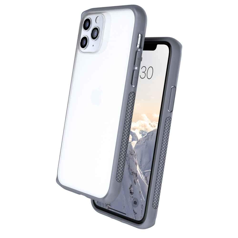 Caudabe Synthesis iPhone 11 Pro [Slim], [Rugged], [Protective] iPhone 11 Pro Case (Gray)