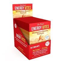 Energy Vites Amino Energy Drink Mix   L Tyrosine, B-12 Vitamin, Inositol, Mineral Powder   Pre Workout Supplement Powder   30 Packets   Dr. Price's Vitamins   No Sugar Vegetarian Non-GMO Gluten-Free