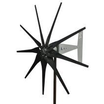 Missouri Wind and Solar 2000 Watt 9 Blade Missouri General Freedom II Wind Turbine (12V, Black)