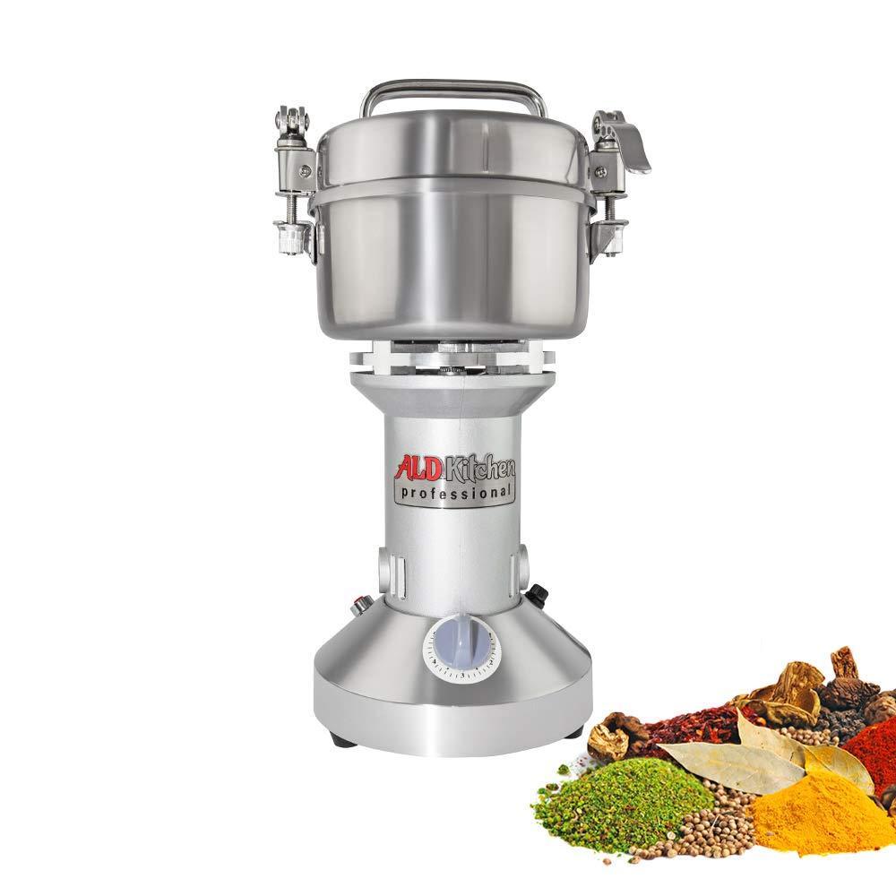 ALDKitchen Grain Mill Grinder High-Speed Powder Machine | Electric | Vertical Pulverizer | 300 gr |110V
