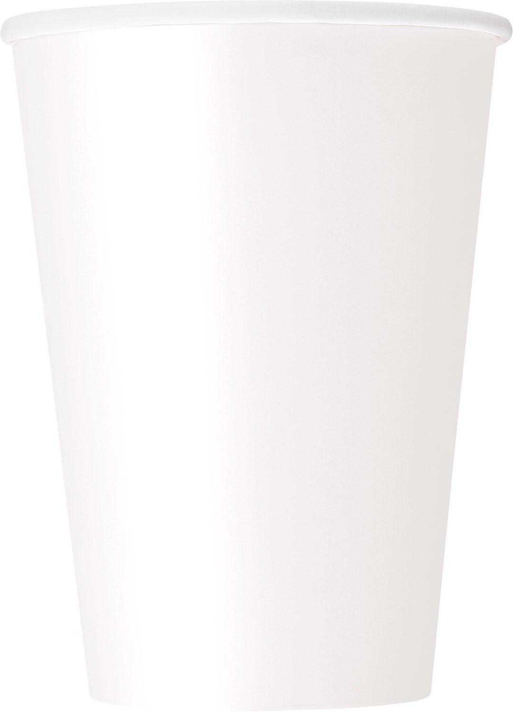 12oz White Paper Cups, 10ct