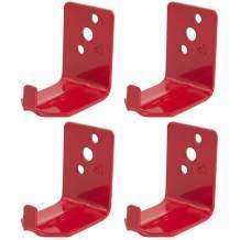 Manufacturer PIL Universal Fire Extinguisher Wall Hook, Hanger for 15 to 20 Lb. Bracket, 2020, Extinguishers, Mount (2 Pack of 4)