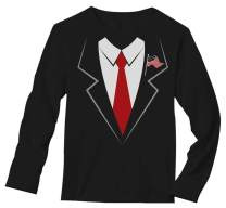 Donald Trump Suit & Tie Easy Halloween Costume Long Sleeve T-Shirt