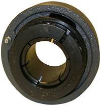 "Sealmaster MSC-32T Ball Bearing Cartridge Unit, Medium Duty, Skwezloc Collar, Felt Seals, Cast Iron Housing, Inch, 2"" Bore, 4-15/16"" OD, 1-5/8"" Width"