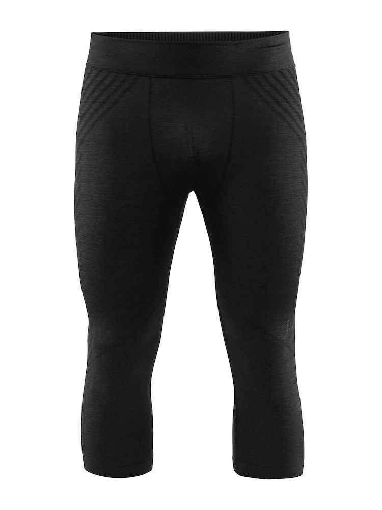 Craft Men's Fuseknit Comfort Base Layer Wicking Half Pant Knicker