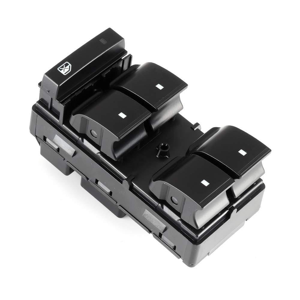 Power Window Switch fits for 2007-2014 Chevrolet Silverado 2500 3500 2008-2011 Chevrolet HHR 2009-2015 Chevrolet Traverse 2007-2013 GMC Sierra 1500 2007-2014 GMC Sierra 2500HD 3500HD Replace 25789692