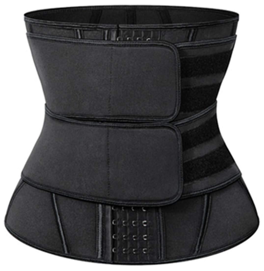 Pandolah Women's 2 Velcros Waist Cincher Tummy Control Shapewear Corset Workout Waist Belt