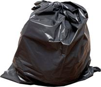45-50 Gallon 2mil Extra Heavy Duty Contractor Garbage Bags, Puncture-Resistant, MADE IN USA, 37 X 43 (Black, 100 Count)