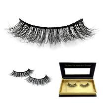 Cuckoo Lashes 100% Hand-made Mink Eyelashes False Eyelash Mink 3D Long and dense Lashes 1 Pair Package FL01H Cuckoo Lashes