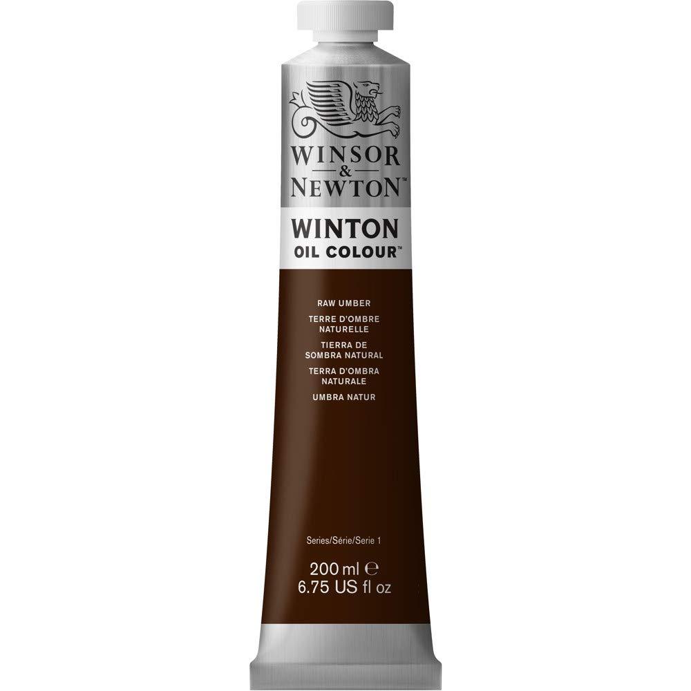 Winsor & Newton Winton Oil Colour Paint, 200ml tube, Raw Umber