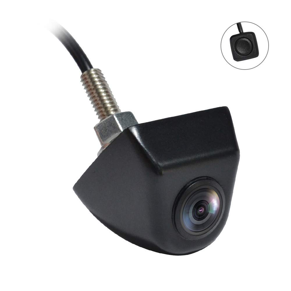 PARKVISION Smart Reverse Camera,True 180°Horizontal Angle Rear/Front Camera, Wide View/Split View/Top View Modes Switchable by One-Key Button,Good for Cars,RVs,Pickups,Mini Truck, etc.