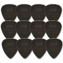Dunlop 449P1.0 Max-Grip Nylon Standard, Black, 1.0mm, 12/Player's Pack