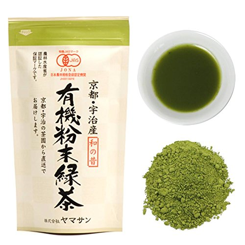 Green tea Powder Organic Instant Sencha,Konacha Sushicha (80g Bag) Japan【CHAGANJU】…
