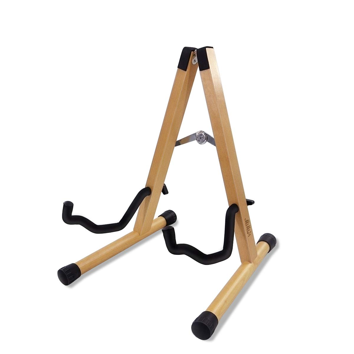 MIMIDI Guitar Stand, Folding Guitar Stand A-frame Portable Classical Guitar Stand Electric Guitar Stand (organic colour)