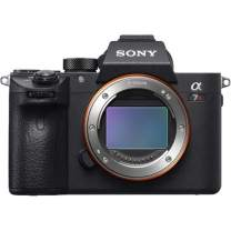 """Sony a7R III Mirrorless Camera: 42.4MP Full Frame High Resolution Interchangeable Lens Digital Camera with Front End LSI Image Processor, 4K HDR Video and 3"""" LCD Screen - ILCE7RM3/B Body, Black"""