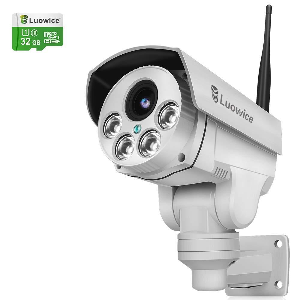 Outdoor IP Camera IP66 ONVIF IR Night Vision WiFi 4XZoom Cam