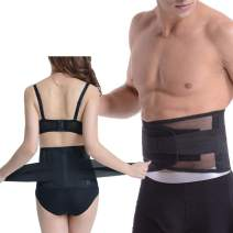 Paskyee Back Brace for Lower Back Pain Relief, Adjustable Lower Back Support Belt for Men and Women, Comfortable Lumbar Support Belt for Sciatica, Scoliosis and Herniated Disc