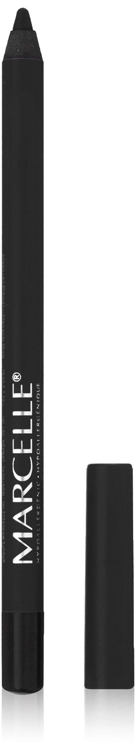 Marcelle Velvet Gel Waterproof Eyeliner, Jet Black, Hypoallergenic and Fragrance-Free, 0.04 oz