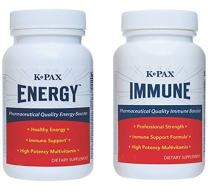 K-PAX Energy Support Program, Fibro Supplement for Fatigue, Energy, Mental Focus and Mitochondrial Health (1 Week Trial)