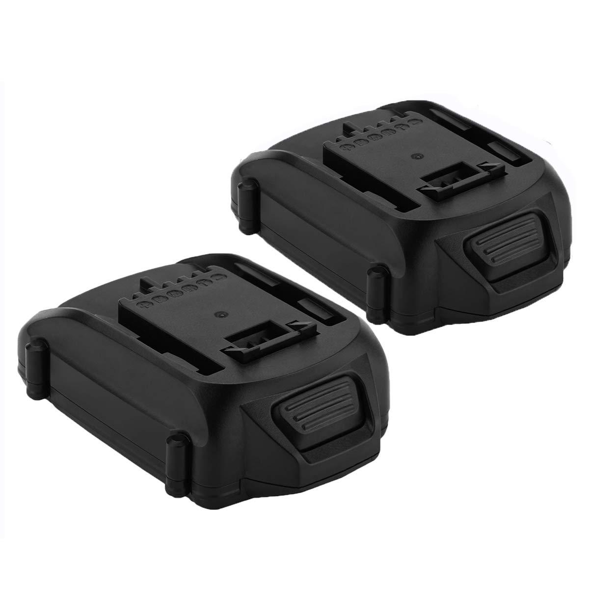 Exmate 2 Pack 18V 2.5Ah Li-ion Replacement Battery for Worx WA3511 WA3512 WA3512.1 WA3523 WG151 WG151E WU287 WU381 WX163 Cordless Tools