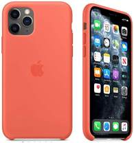 Maycase Compatible for iPhone 11 Pro Max Case, Liquid Silicone Case Compatible with iPhone 11 Pro Max (2019) 6.5 inch (Orange)