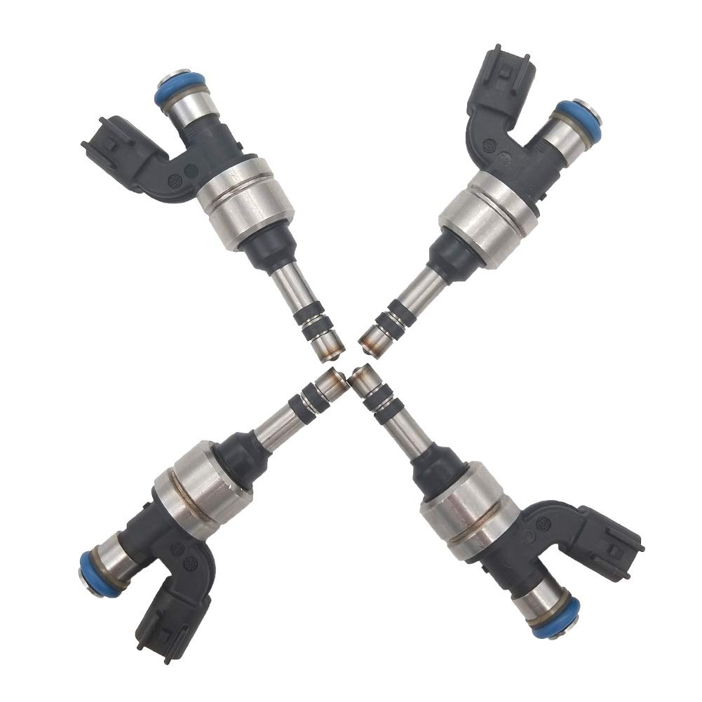 JESBEN JSD9-B2 FJ1154 4Pcs Set Fuel Injectors 6 Holes Replacement for LaCrosse 2.4L 2011-2016 Regal Verano Equinox Terrain 2.4L 2011-2017 Malibu 2.4L 2013-2014 2173427 12633784