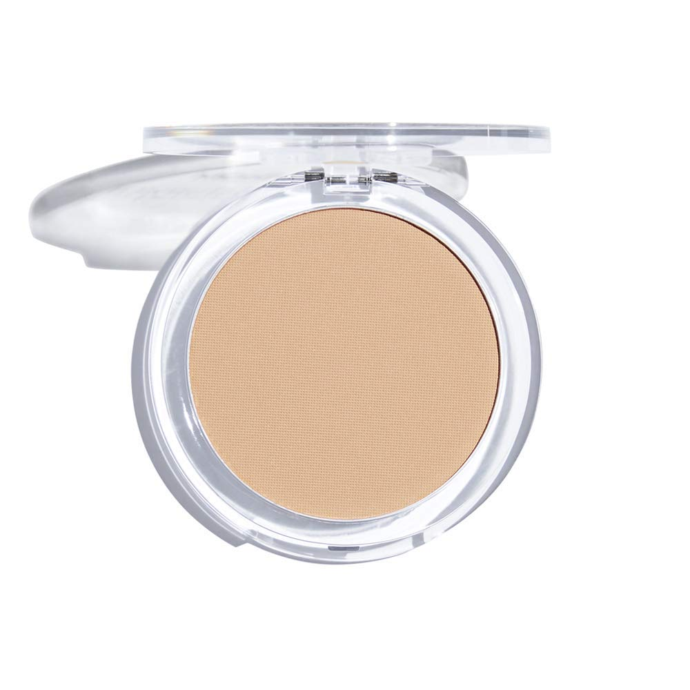 MCoBeauty Invisible Matte Pressed Powder | Setting and Finishing Face Powder | Nude Beige