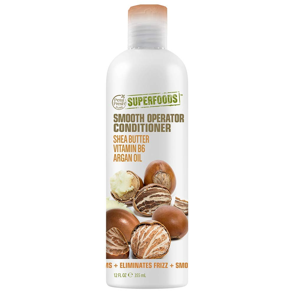 Petal Fresh SuperFoods Smooth Operator Conditioner (Shea Butter, Vitamin B6 & Argan Oil)   SuperFoods Beauty