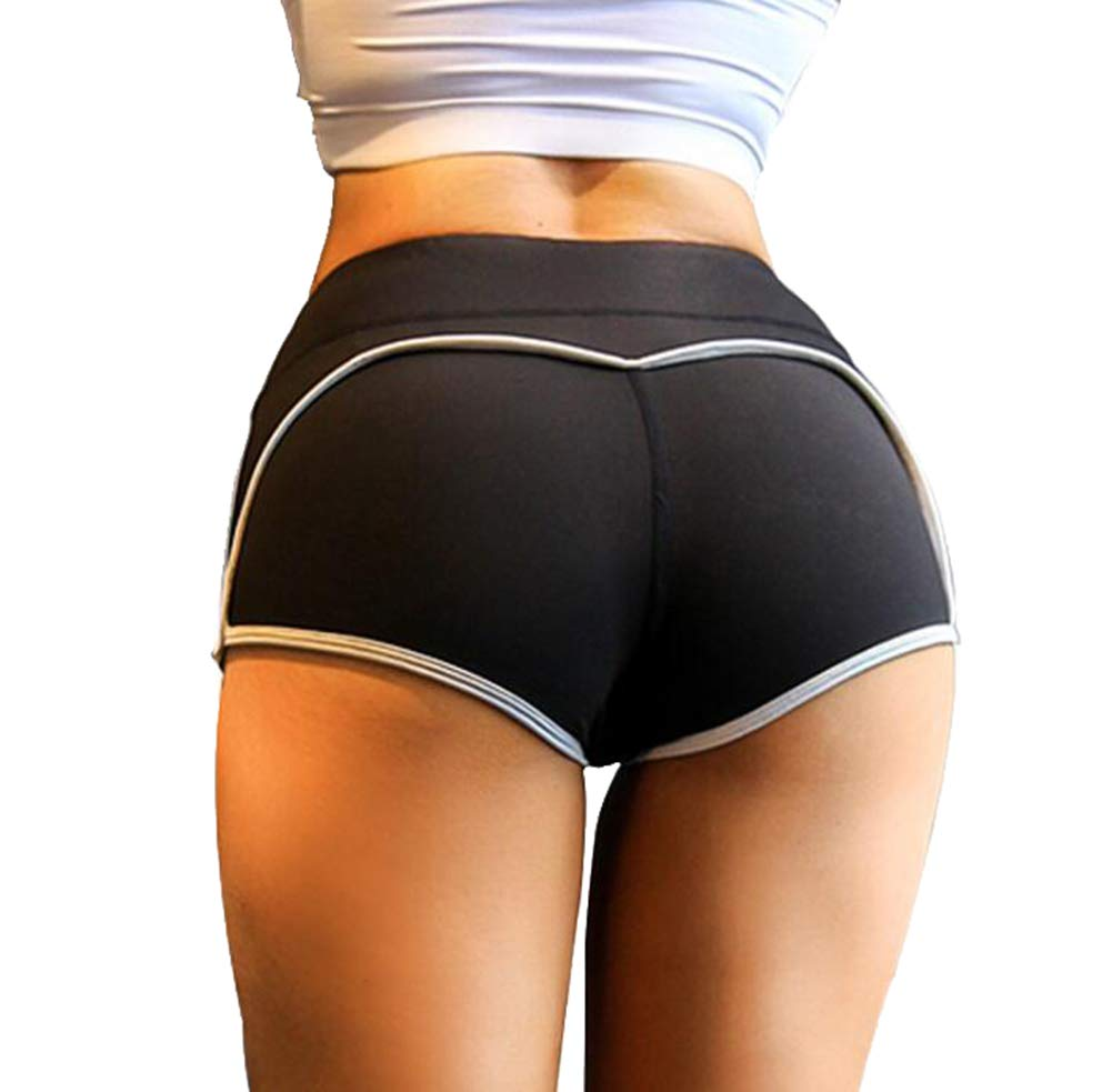 GUOLEZEEV Athletic Shorts for Women Butt Lifting Workout Shorts for Yoga,Dance,Fitness,Gym
