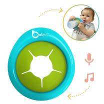 Biebies Baby-T Music Toy, Bottle Holder for Infants, Recordable Musical Toy Machine Sing Along-Rechargeable-Portable Musical Soother, Great Toys for Baby
