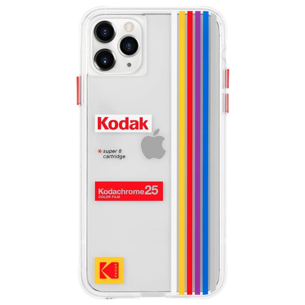 Kodak x CASE-MATE - iPhone 11 Pro Max Case - Kodak Striped Kodachrome Super 8 Case