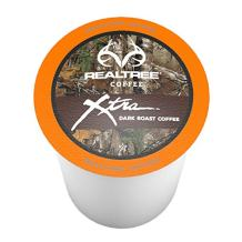Realtree Xtra, Dark Roast Coffee Pods for Keurig K-Cup Brewers, 40 Count