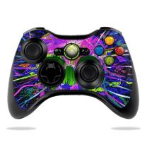 MightySkins Skin Compatible with Microsoft Xbox 360 Controller - Hard Wired | Protective, Durable, and Unique Vinyl Decal wrap Cover | Easy to Apply, Remove, and Change Styles | Made in The USA