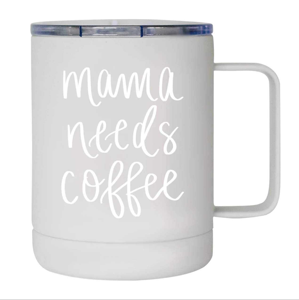 Sweet Water Decor Mama Needs Coffee Mug Metal Insulated Coffee Cup Mugs For Mom Gifts For New Moms Mommy Mama Wife Mom Boss Funny Mug For Moms Women Sassy Quotes Mothers Baby Shower Motivational Gift