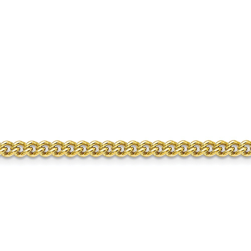 ICE CARATS Stainless Steel Gold Plated 4mm 30in Round Link Curb Chain Necklace 30 Inch Pendant Charm Rounded Fashion Jewelry for Women Gift Set