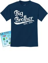 TeeStars - Gift for Big Brother 2016 Kids T-Shirt 4T Navy