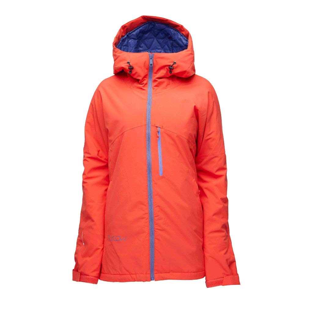 Flylow Women's Sarah Insulated Jacket - 2 Layer Waterproof Skiing and Snowboarding Jacket