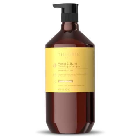 Theorie: Sage - Monoi & Buriti - Glossing Shampoo – Hydrate & Shine - For Coarse & Dry – Protects Color & Keratin Treated Hair (27 Fl.Oz / 800 mL)