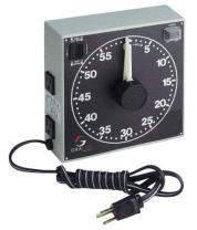 """GraLab Model 300,  60 Minute Photography and Darkroom Timer, 7-1/2"""" Length x 7-1/2"""" Width x 2-1/2"""" Height"""