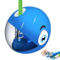 Electric Pencil Sharpener for Kids,Shark Pencil Sharpener for No.2 Pencils and Colored Pencils,Electrical Automatic Sharpener for Home/School/Office,Fast Sharpen with USB or 2AA Batteries(Not Included