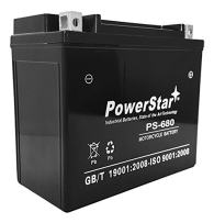 PowerStar Replacement 20L-BS Battery for S3/S3T Thunderbolt Motorcycle