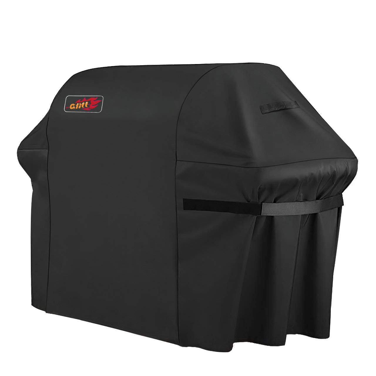 VicTsing Grill Cover, 72-Inch Waterproof BBQ Cover, 600D Heavy Duty Gas Grill Cover for Weber, Brinkmann, Char Broil, Holland and Jenn Air (Dust & Water Resistant, Weather Resistant, Rip Resistant)