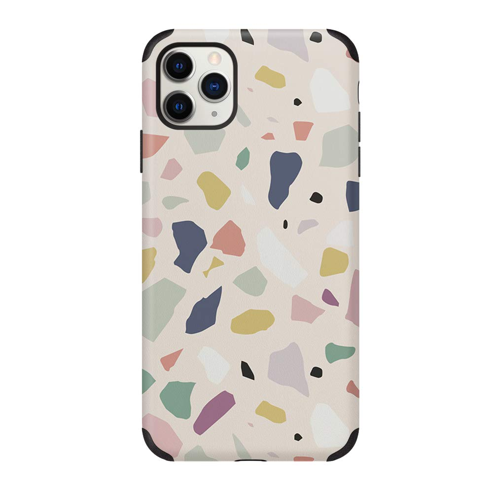 CUSTYPE Compatible with iPhone 11 Pro Max Case Print Art Watercolor Pattern Cover Case Soft TPU Slim Shockproof Back Shell Case for iPhone 11 Pro Max 6.5 inch Pink