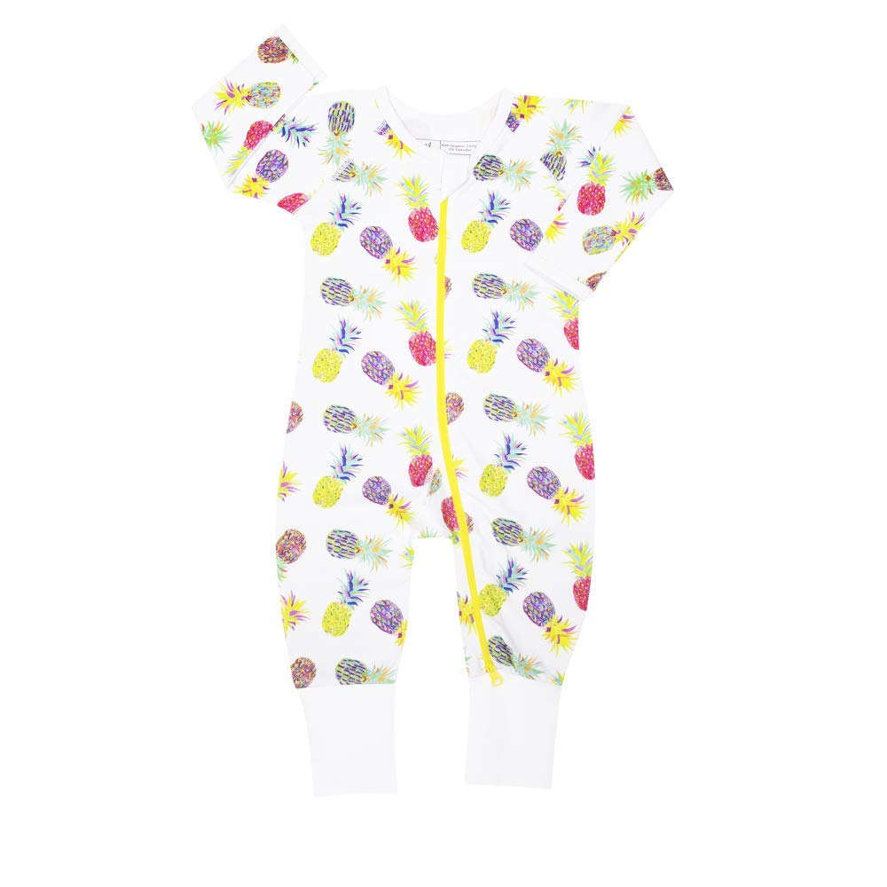 Rabbit Skip Road Southern Charm Organic Cotton Footed Jumper/Romper/Onesie