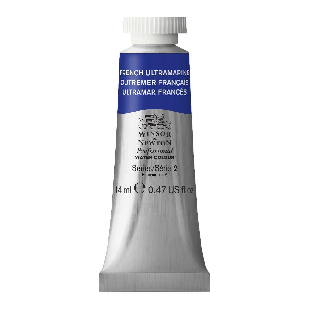 Winsor & Newton Professional Water Colour Paint, 14ml tube, French Ultramarine
