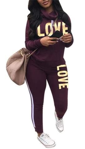 Long Sleeve Ribbed Crop Top Skinny Long Pants Tracksuit Jogger Set Women 2 Piece Outfits Sweatsuit Set