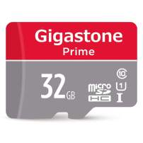 Gigastone 32GB Micro SD Card with Adapter, U1 C10 Class 10, Full HD available, 90MB/S Micro SDHC UHS-I Memory Card