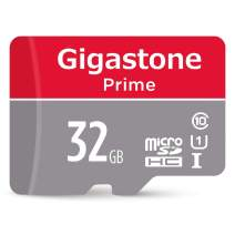 Gigastone 32GB Micro SD Card with Adapter, U1 C10 Class 10, Full HD available, Micro SDHC UHS-I Memory Card